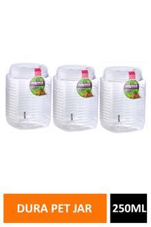 Nayasa Dura Pet Jar 3pc Set 250ml