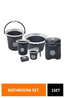 Nayasa Crest Bathroom Set