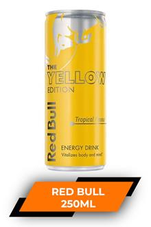 Red Bull Energy Drink Yellow Edition 250ml