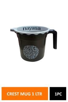 Nayasa Crest Mug Dlx 1ltr