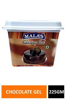 Malas Glazing Gel Chocolate 225gm