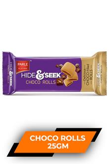 Parle Hide & Seek Choco Rolls 25gm