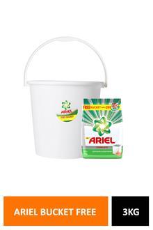 Ariel Powder 3kg + Bucket Free