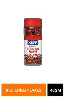 Keya Red Chilli Flakes 40gm