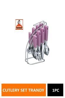 Crystal Cutlery Set Trandy Mka241