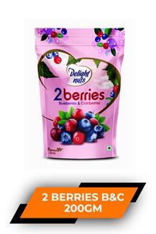 Delight Nuts 2 Berries B&c 200gm