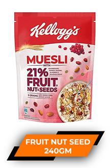 Kelloggs Muesli Fruit And Nut 240gm