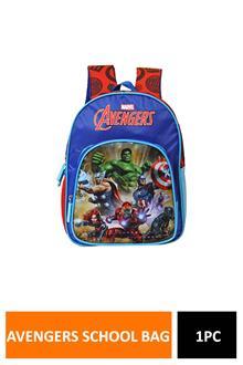 Avengerss Blue School Bag 30 Cm MbE-Wdp1244