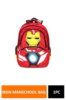 Iron Man Face Red School Bag 48 Cm MbE-Wdp1420