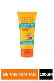 Vlcc De Tan + Anti Tan Sunscreen Spf40 100gm