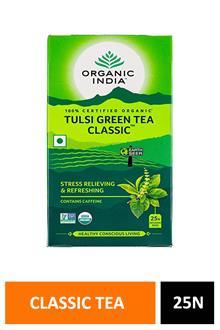 Organic India Tulsi Green Tea Classic 25n