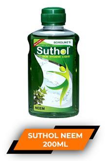 Borolines Suthol Neem Oil 200ml