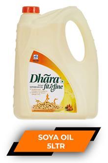 Dhara Soya Refine Oil 5ltr