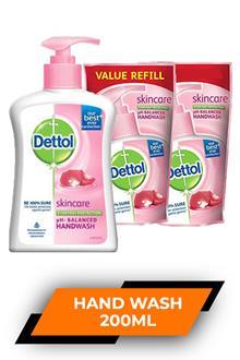 Dettol Skincare Hand Wash 200ml