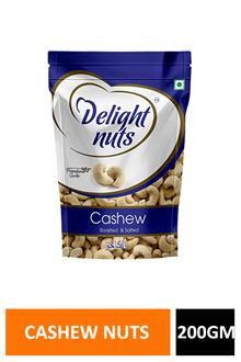 Delight Nuts Whole Cashews 200gm