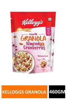 Kelloggs Granola Almond & Cranberries 460gm