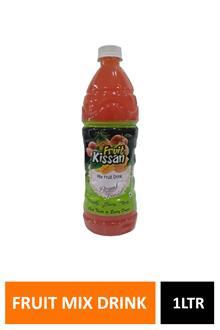 Nfb Fruit Kissan Mix Drink 1ltr