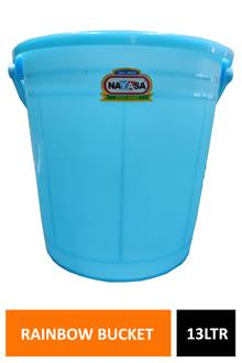 Nayasa Frosty Rainbow Bucket 13ltr Np4153