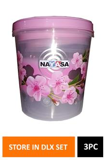 Nayasa Store In Dlx Set Of 3
