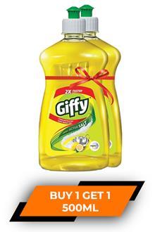 Giffy Dish Wash Gel 500mlx2