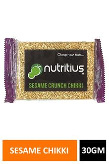 Nuttoz Seasame Chikki 30gm