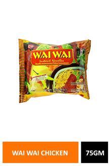 Wai Wai Chicken Noodles 75gm