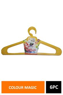Uro Colour Magic Hanger 6pc