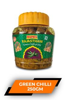 Nilons Green Chilli Pickle 250gm