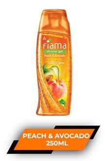 Fiama Sg Peach & Avocado 250 ml