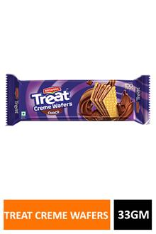 Britania Treat Creme Wafers Choco 33gm