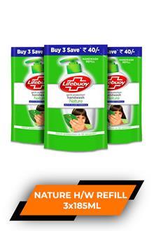 Lb Nature Handwash Refill 3x185ml