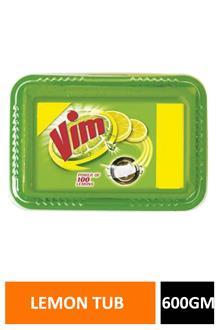 Vim Bar Lemon Tub 600gm
