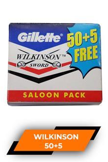 Gillette Wilkinson  5 Blades