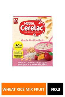 Cerelac 3 Wheat Rice Mix Fruit 300gm