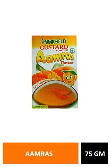 Weikfield Custard Powder Aamras 75gm