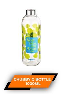 Nayasa Chubby Glass Bottle 1000ml