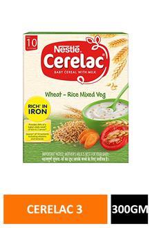 Cerelac 3 Wheat Rice Mix Veg 300gm