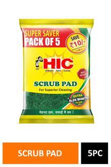 Hic Scrub Pad 5pc Yi152