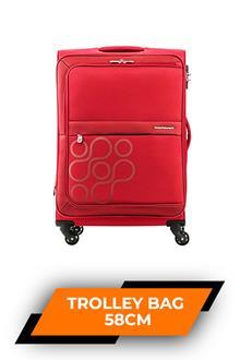 Kam Venda Scarlet Trolley Bag 58cm