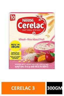 Cerelac 3 Wheat Rice Mix Fruit 300gm