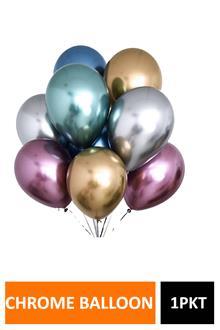 Hb Chrome Balloons 10pcs