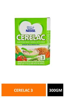 Cerelac 3 Wheat Rice Mix Veg 300gm