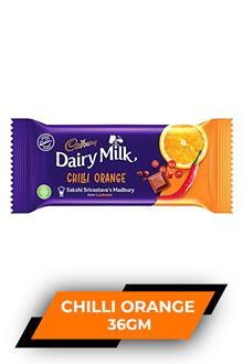 Dairy Milk Chilli Orange 36gm