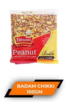 Jabsons Peanut Chikki 100gm