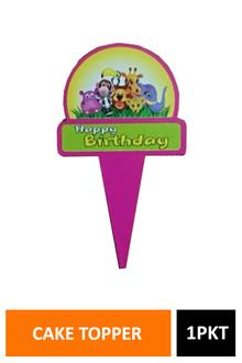 Sig Cake Topper H Bday 10pc Dt2096e