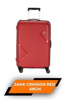 Kam Zakk Crimson Red Trolley Bag 68cm