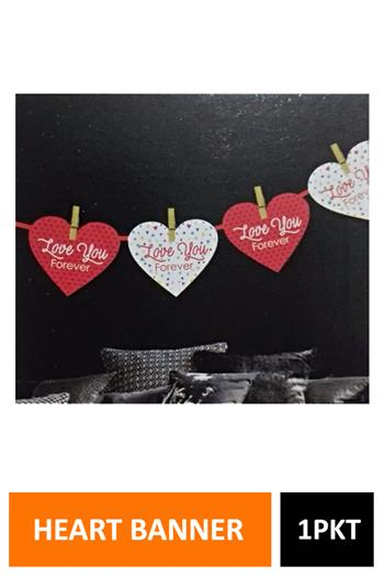 Sig Hanging Heart Banner Tn5040