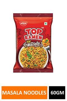 Nissin Top Ramen Masala Noodles 60gm