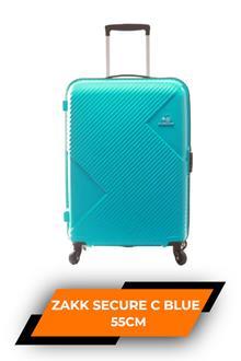 Kam Zakk Secure C Blue Trolley Bag 55cm