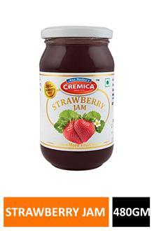 Cremica Strawberry Jam 480gm